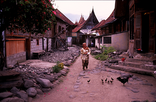 Minang mountain village