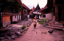 Minang mountain village