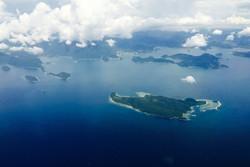 Marak Island and the wild coastline