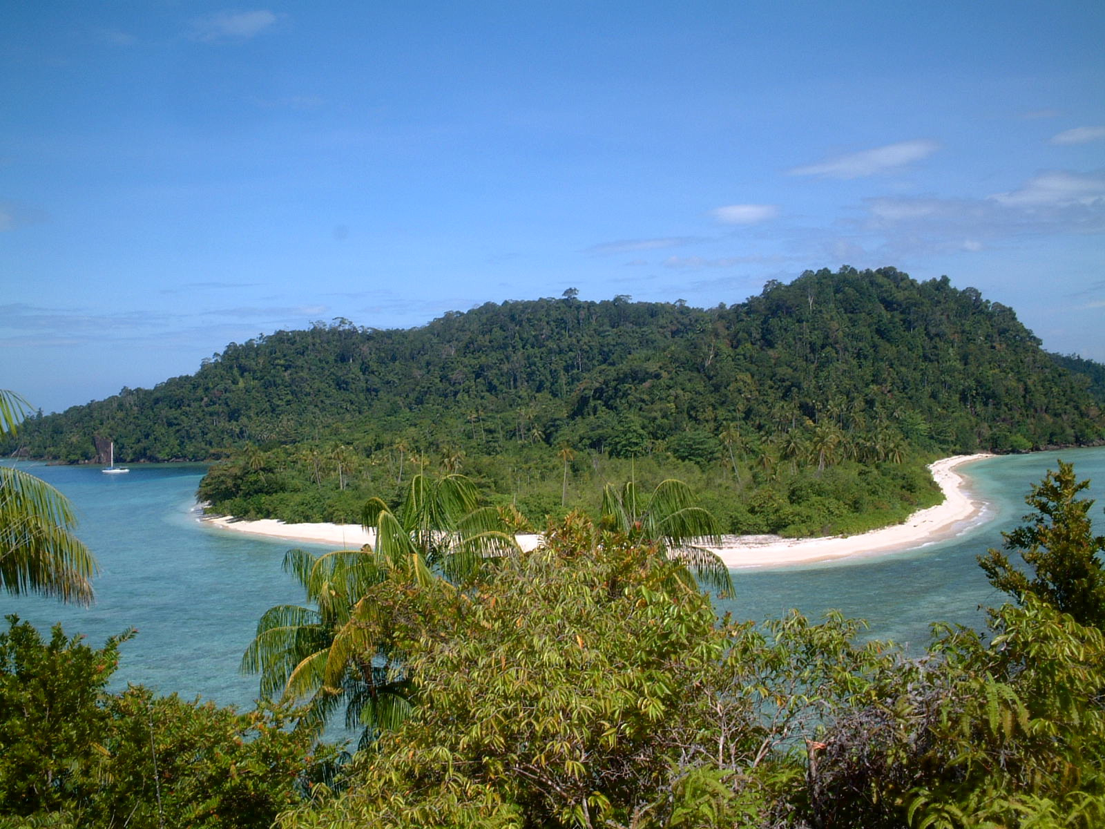 Marak Island - 12nm south of Padang