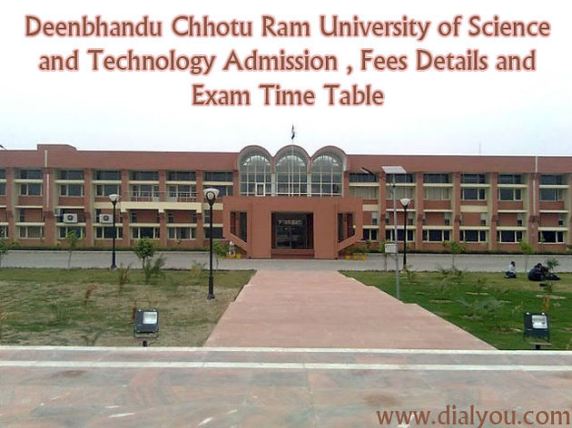 Deenbhandu Chhotu Ram University of Science and Technology