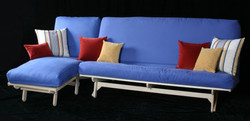 Full Sofa and Cot Chaise sectional