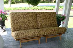 2 Twin Chairs make a long Full Sofa