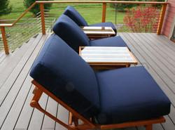 Three Reclining Chairs