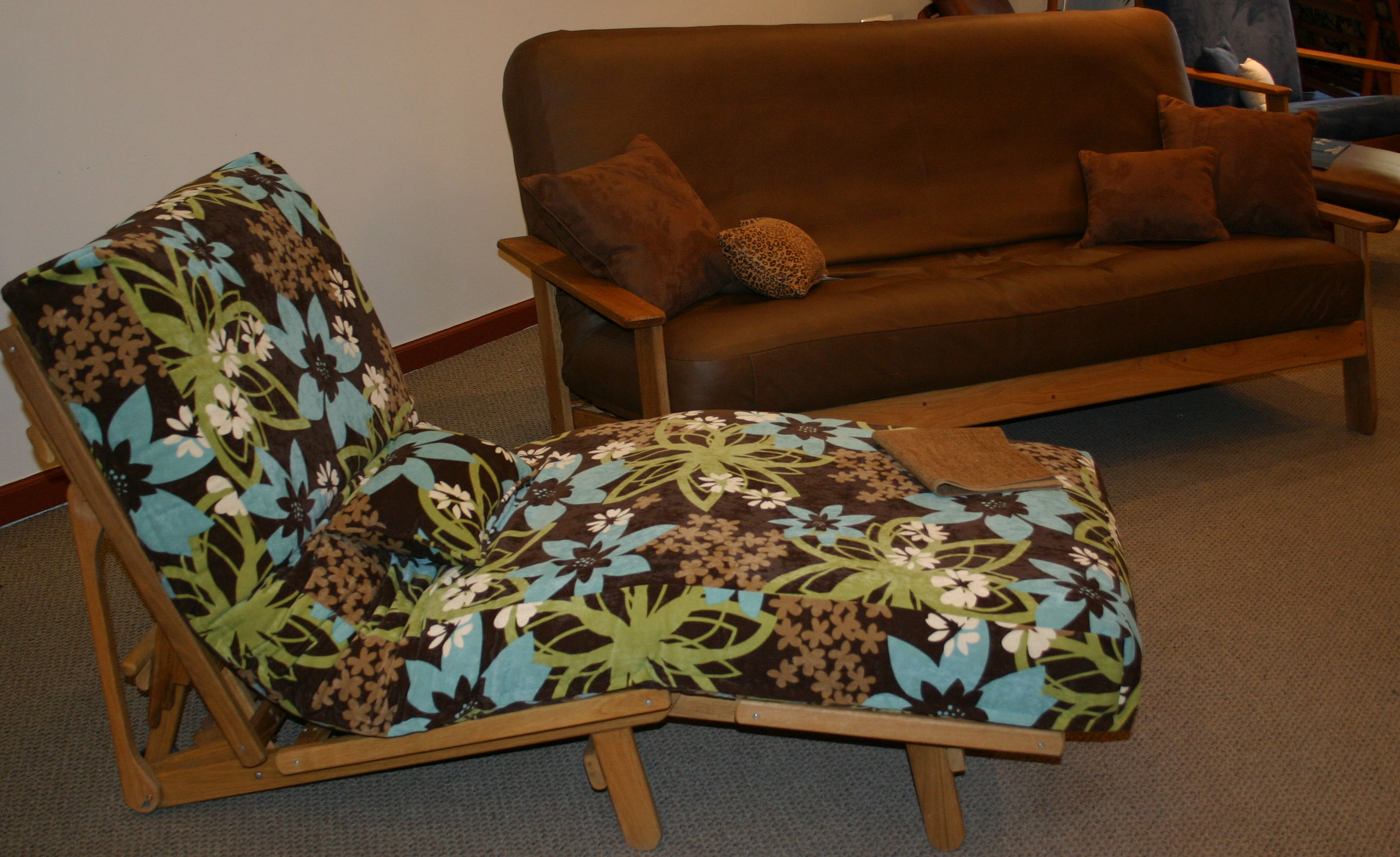 Scandia Sofa and Cot Chaise Set