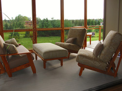 Shape shifting Porch Furniture