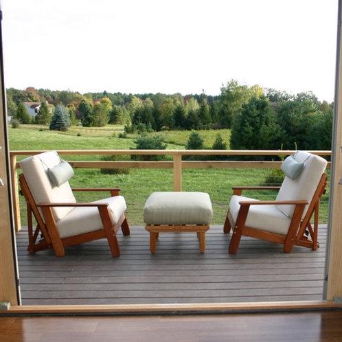 Outdoor Chair  SCANDIA CHERRY