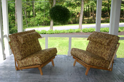 """Two Twin , 39"""" armless Freedom Chair"""