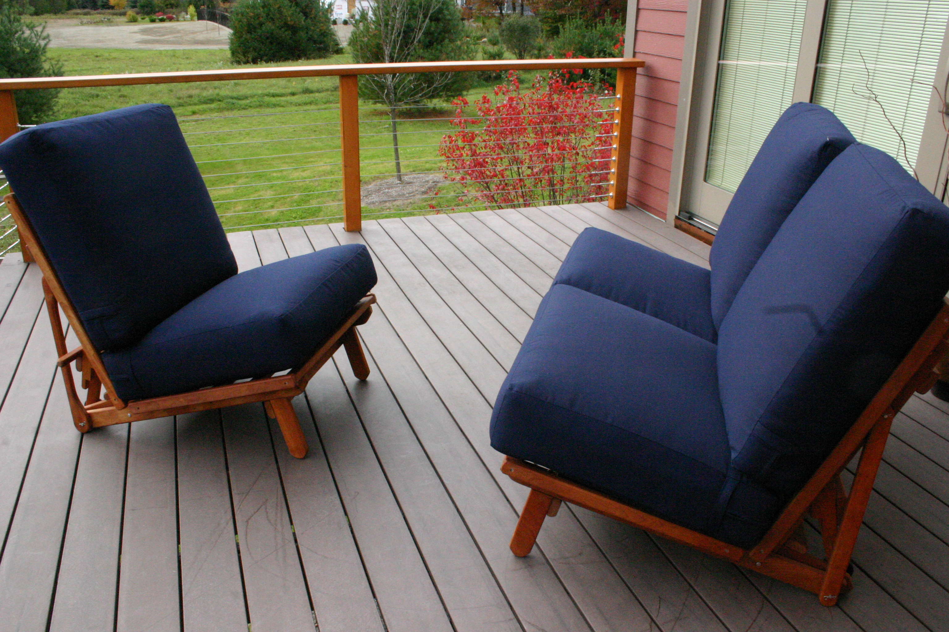 Two Chairs make a Loveseat