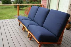 Three Chairs make a Full Sofa