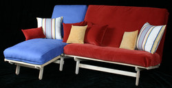 Freedom Loveseat and Cot Chaise
