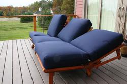 Three Chairs reclining