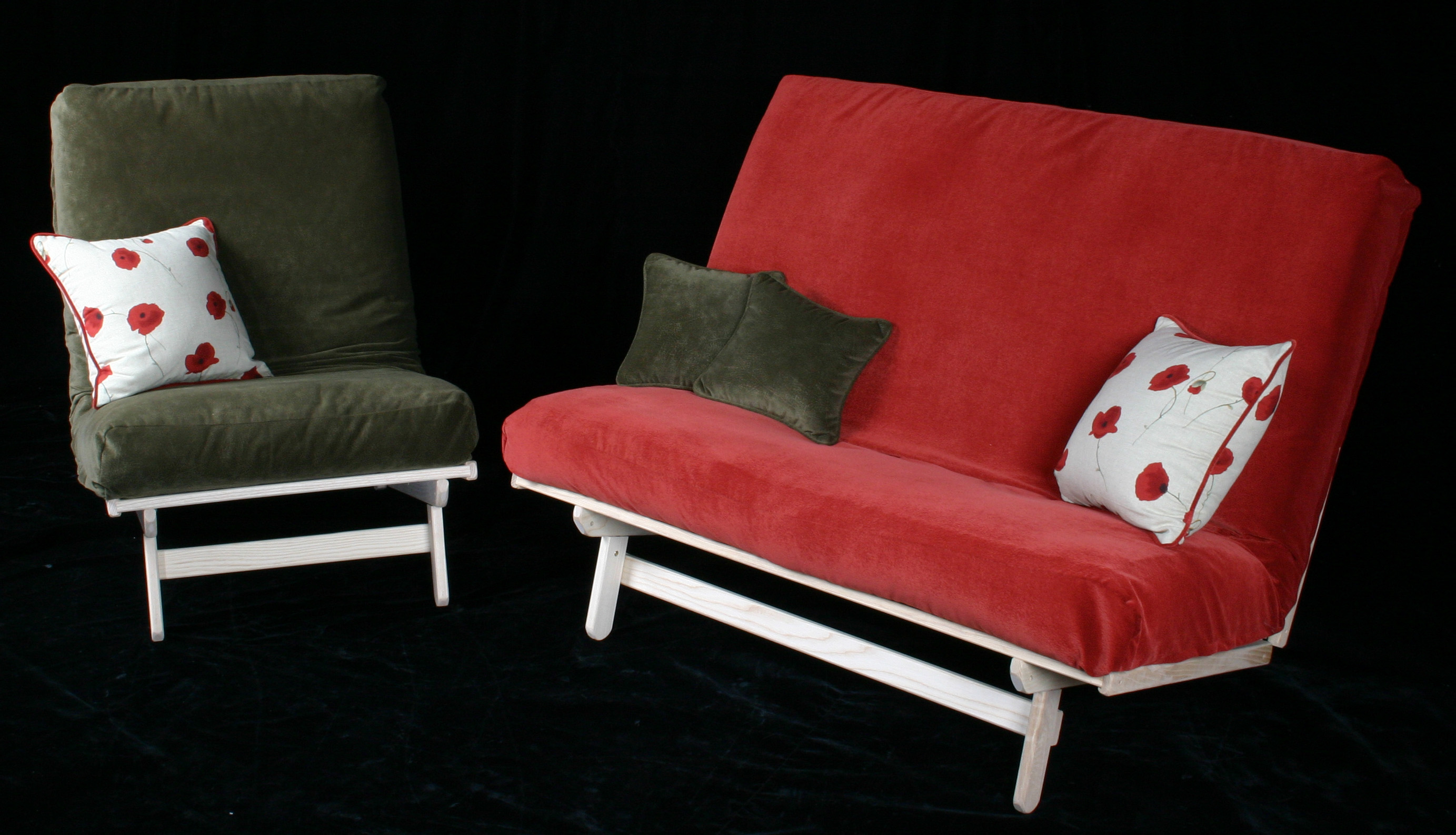 Freedom loveseat and chair