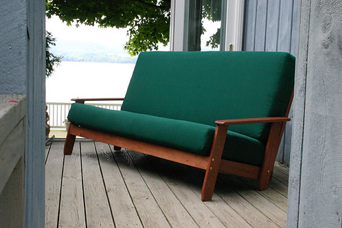 Outdoor Sofa Bed SCANDIA CHERRY
