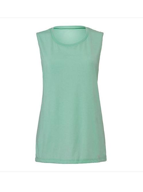 Ladies Scoop Muscle Vest