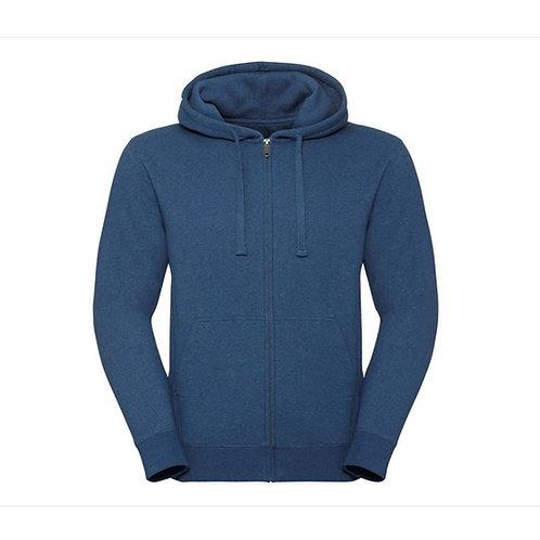 Unisex Authentic Melange Zip Hoodie