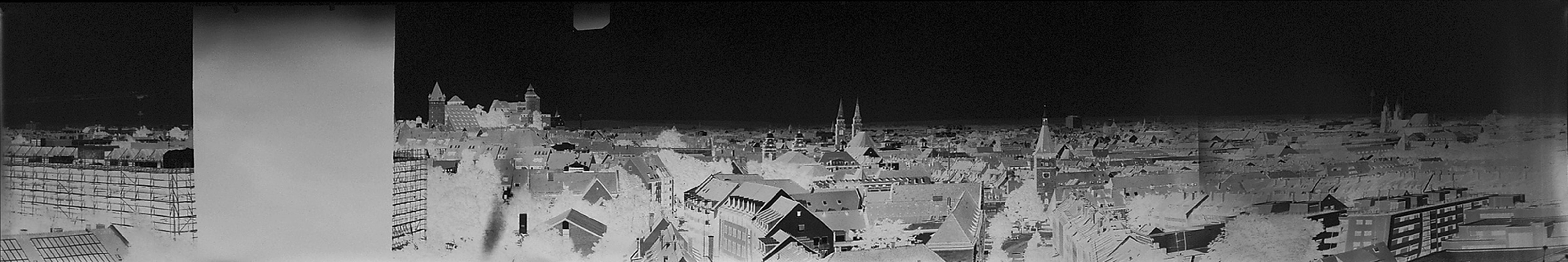 Panorama aus dem Laufertorturm Nürnberg