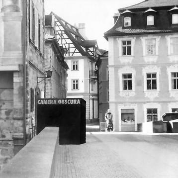 Begehbare Camera obscura in Bamberg