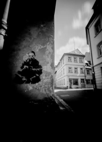 Bamberg, Graffiti Frauenstraße