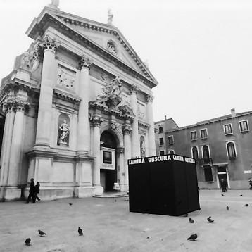 Begehbare Camera obscura in Venedig