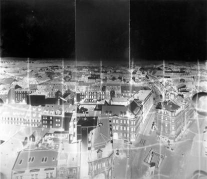 Panorama aus dem Rathausturm Fürth II