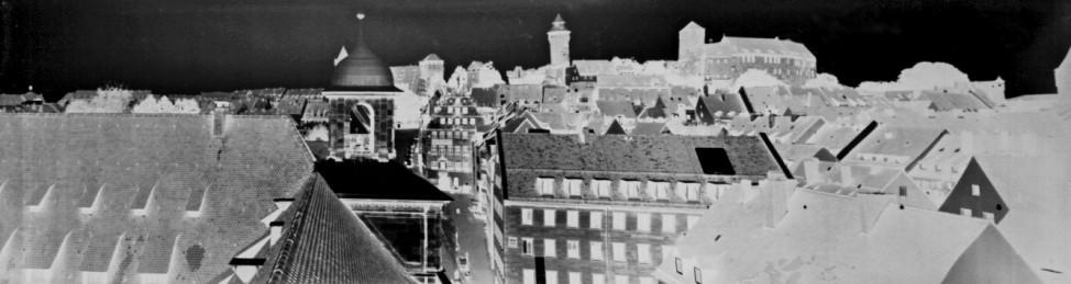 Panorama aus dem Historischen Rathaus Nürnberg