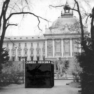 Begehbare Camera obscura in München