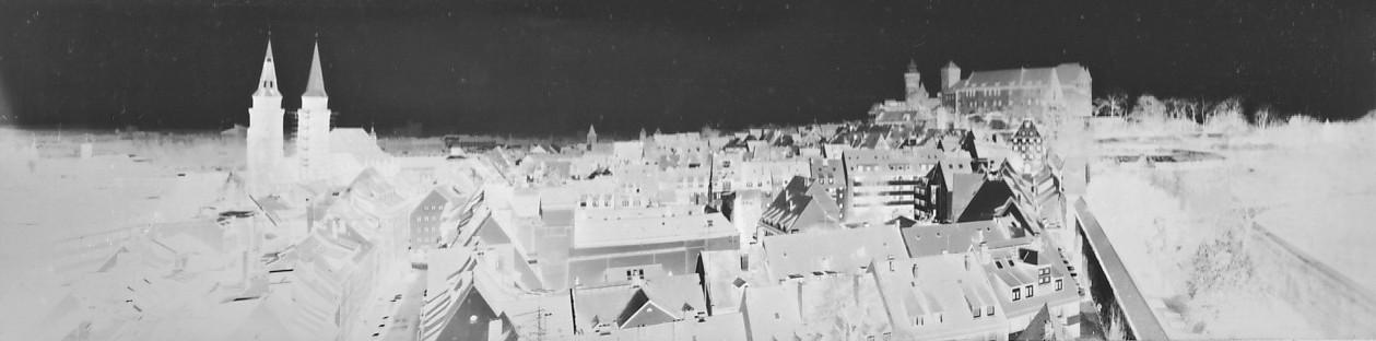 Panorama aus dem Neutorturm Nürnberg