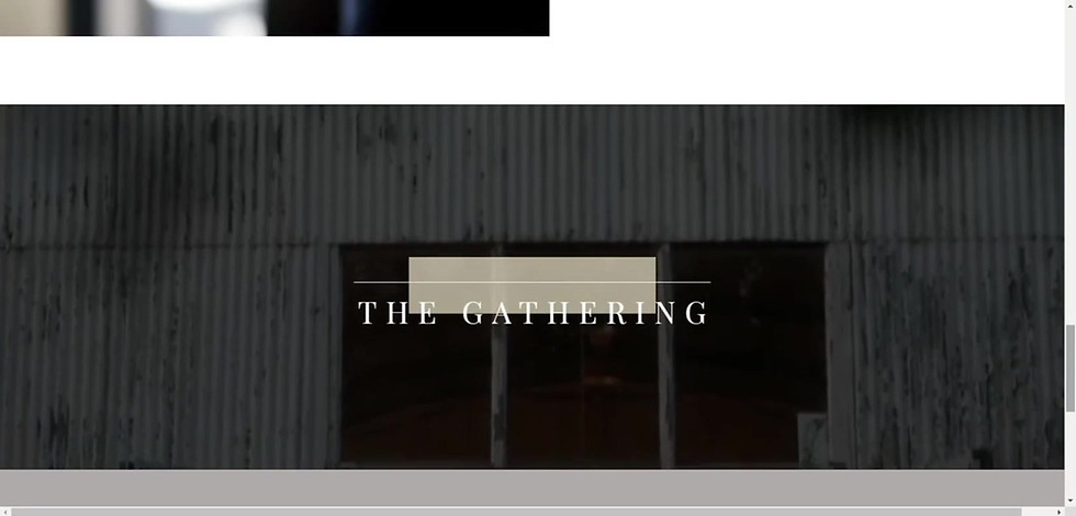 The Gathering- Banquet Facility Website Design | Shawano Wisconsin