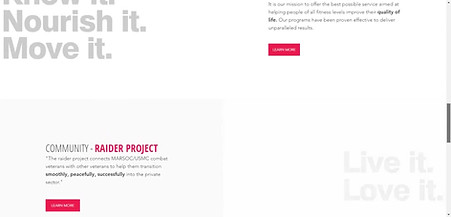 Gym-Personal Trainer-Fitness Web Design Project | Wausau Wisconsin