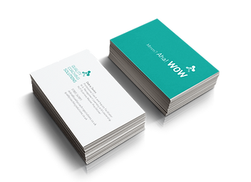 business card designed by Overflow Local