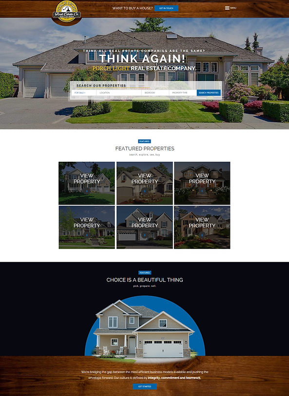 Wisconsin Real Estate Agent Design