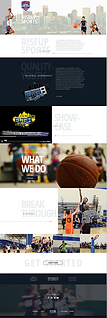 Rise Up Sports Website Project | Colorado
