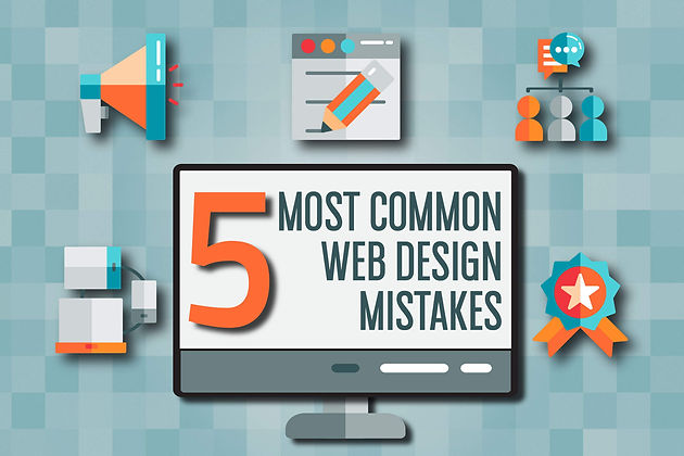5 Most Common Web Design Mistakes That Affect SEO | Website