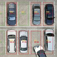 carros estacionando
