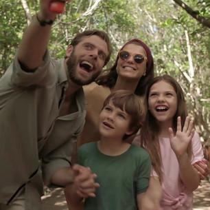 Family at Iberostar
