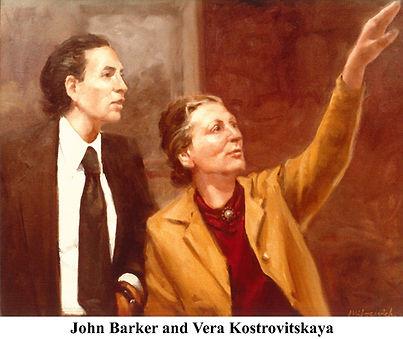 John Barker and Vera Kostrovitskaya Pain