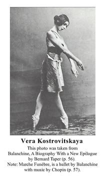 Kostrovitskaya, Vera, Taper Photo with C