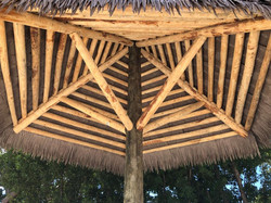 Artificial Thatch Structure