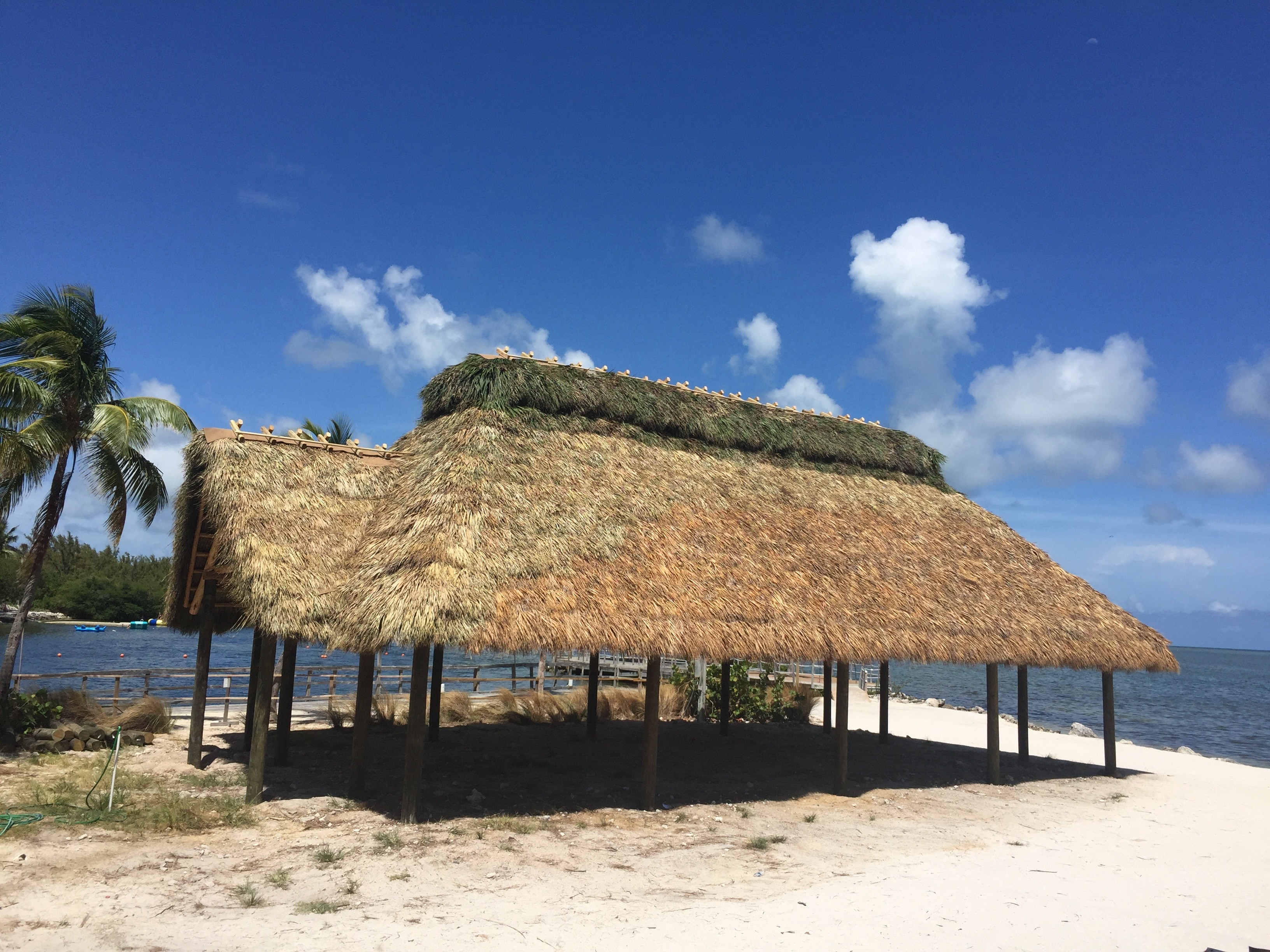 Tiki Hut on The Beach