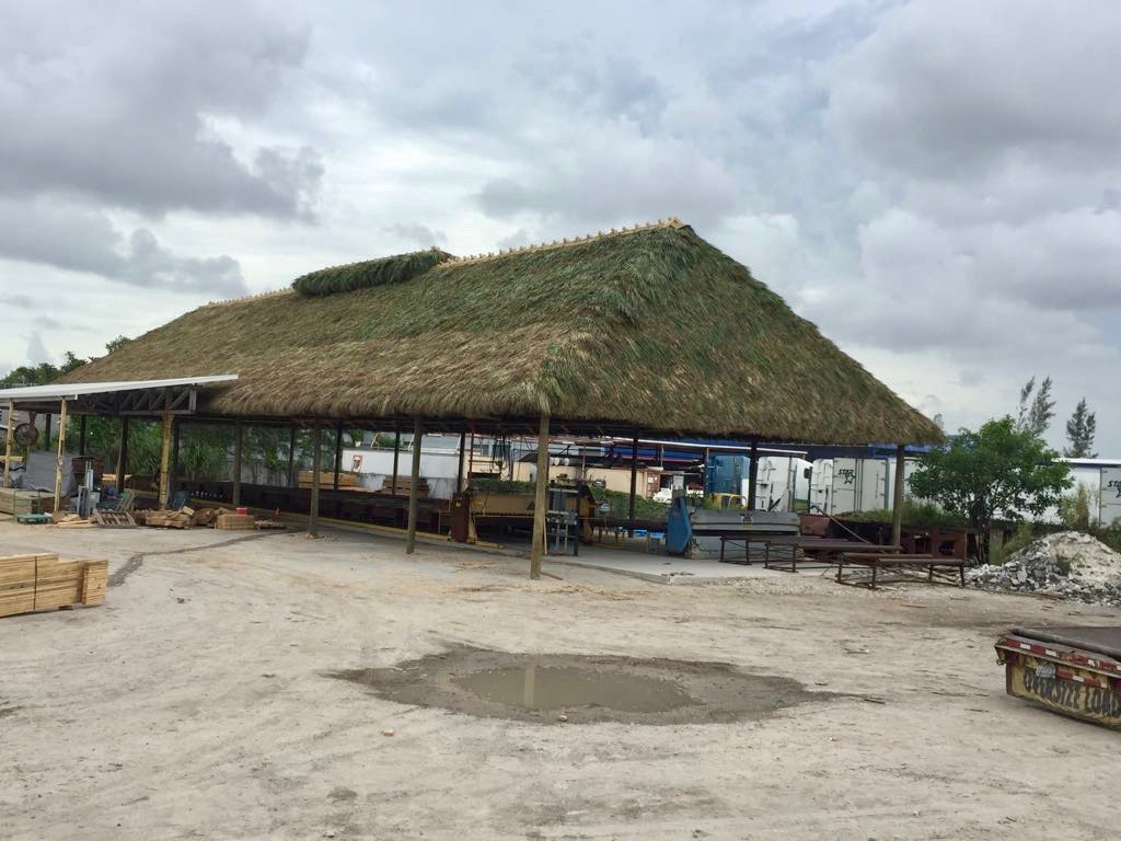 Commercial Tiki Hut