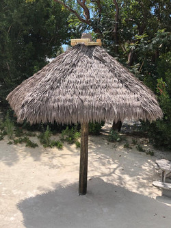 Artificial Umbrella Tiki Hut
