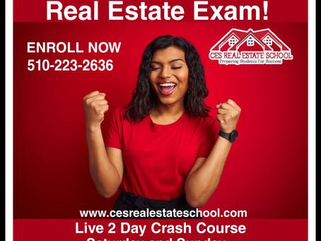California Real Estate Exam Prep Class