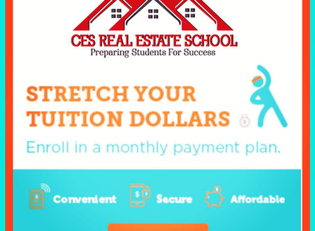 Pay For Your Real Estate Education in 3 Easy Payments