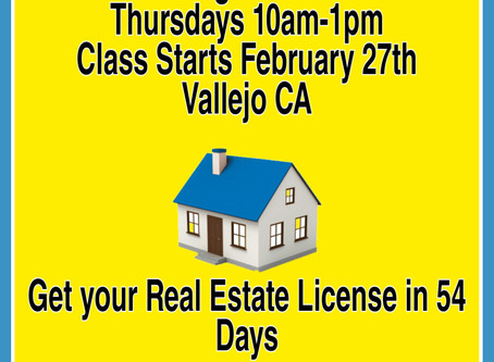 Real Estate Classes in Vallejo CA