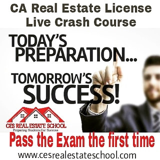 Now offering Live Real Estate Exam Prep Course
