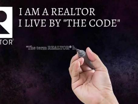 The Realtor Code Ethics