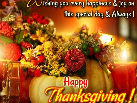 Happy Thanksgiving from CES Real Estate School