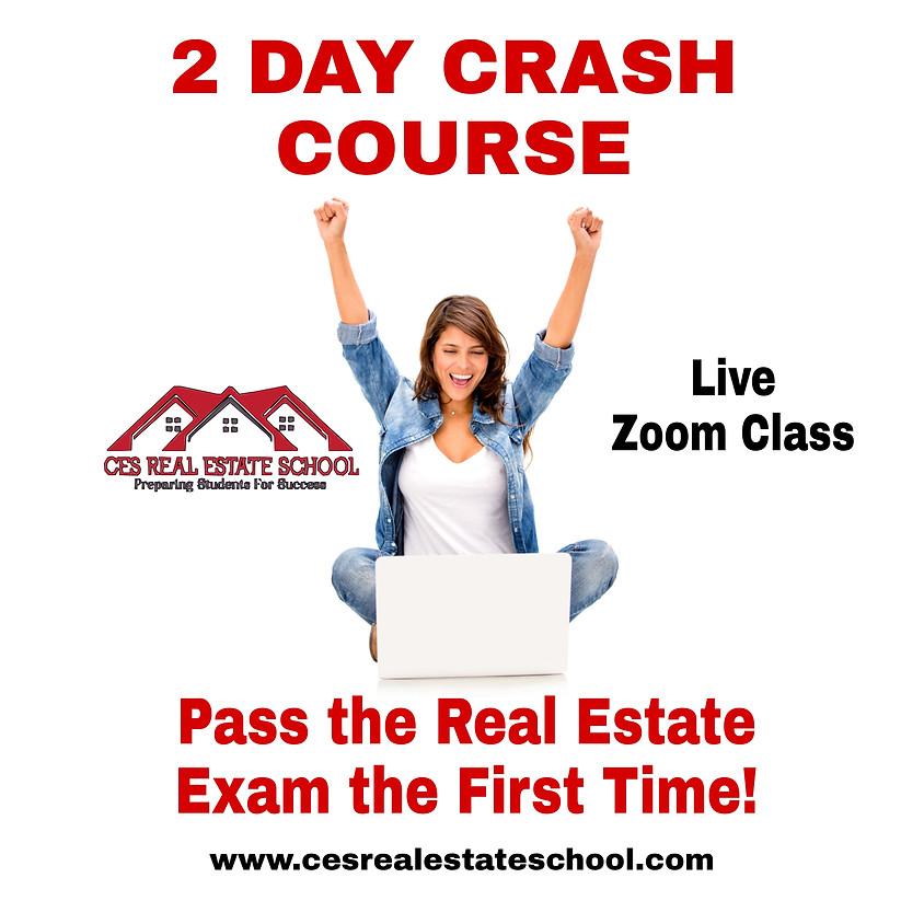 2 Day Real Estate Exam Crash Course