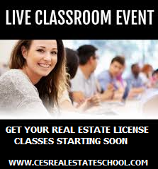 Live Real Estate Class Sept 9th Enroll Now